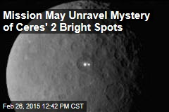 Mission May Unravel Mystery of Ceres' 2 Bright Spots