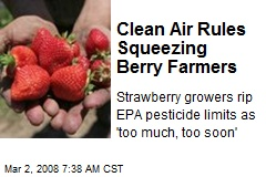 Clean Air Rules Squeezing Berry Farmers
