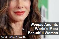 People Anoints World's Most Beautiful Woman