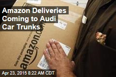 Amazon Deliveries Coming to Audi Car Trunks