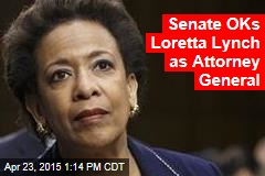 Senate OKs Loretta Lynch as Attorney General