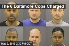 The 6 Baltimore Cops Charged