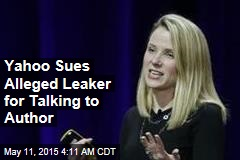 Yahoo Sues Alleged Leaker for Talking to Author