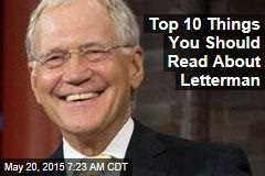 Top 10 Things You Should Read About David Letterman