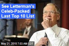 'National Nightmare' Over: Letterman Signs Off