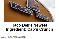 Taco Bell's Newest Ingredient: Cap'n Crunch