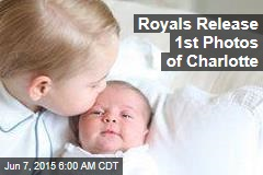 Royals Release 1st Photos of Charlotte