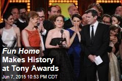 Fun Home Makes History at Tony Awards