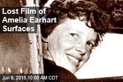 Lost Film of Amelia Earhart Surfaces