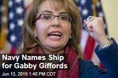 Navy Names Ship for Gabby Giffords