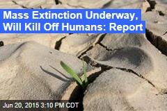 Mass Extinction Underway, Will Kill Off Humans: Report