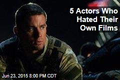 5 Actors Who Hated Their Own Films