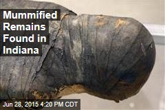 Mummified Remains Found in Indiana Quarry
