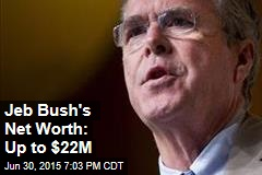 Jeb Bush's Net Worth: Up to $22M
