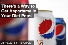 There's a Way to Get Aspartame in Your Diet Pepsi