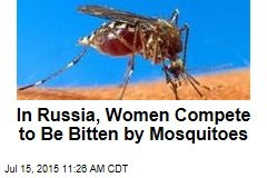 In Russia, Women Compete to Be Bitten by Mosquitoes