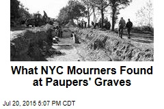 Finally, Mourners Visit NYC's Dead in Pauper's Graves