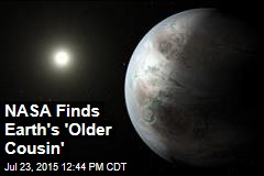 NASA Finds Earth's 'Older Cousin'