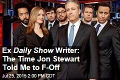Ex Daily Show Writer: The Time Jon Stewart Told Me to F-Off
