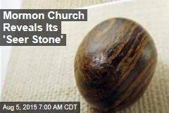 Mormon Church Reveals 'Seer Stone' for First Time