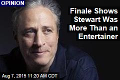 Finale Shows Stewart Was More Than an Entertainer