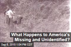 What Happens to America's Missing and Unidentified?