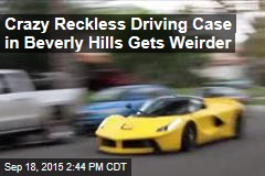 Bizarre Case of Reckless Driving Terrorizes Beverly Hills