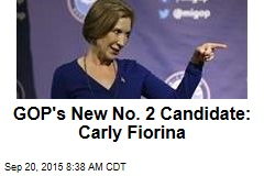 GOP's New No. 2 Candidate: Carly Fiorina
