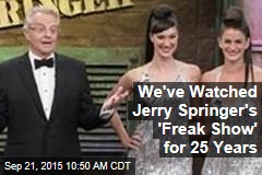 We've Watched Jerry Springer's 'Freak Show' for 25 Years
