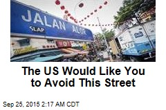 US, Australia Warn Citizens to Avoid This Street