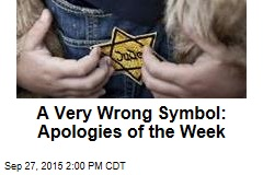 A Very Wrong Symbol: Apologies of the Week