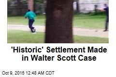 'Historic' Settlement Made in Walter Scott Case