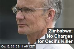 Zimbabwe: No Charges for Cecil's Killer