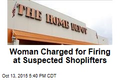 Woman Charged for Firing at Suspected Shoplifters