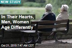In Their Hearts, Men, Women Age Differently
