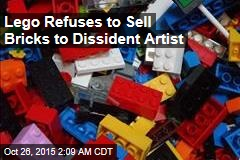 Lego Refuses to Sell Bricks to Dissident Artist
