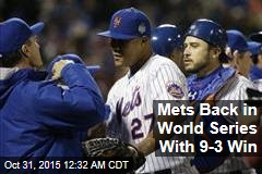 Mets Back in World Series With 9-3 Win