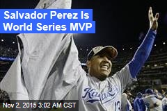 Salvador Perez Is World Series MVP
