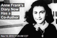 Anne Frank's Diary Now Has a Co-Author