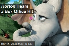 Horton Hears a Box Office Hit