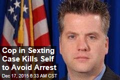 Cop in Sexting Case Kills Himself to Avoid Arrest