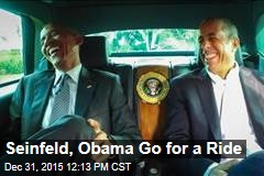 Seinfeld, Obama Go for a Ride