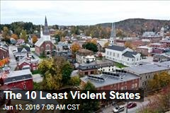 The 10 Least Violent States