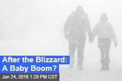 After the Blizzard: A Baby Boom?