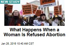What Happens When a Woman Is Refused Abortion