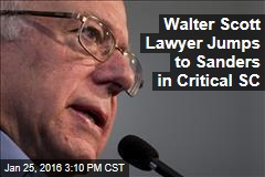 Walter Scott Lawyer Jumps to Sanders in Critical SC