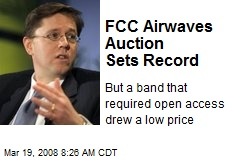 FCC Airwaves Auction Sets Record