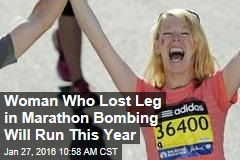 Woman Who Lost Leg in Marathon Bombing Will Run This Year