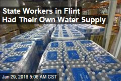 State Workers in Flint Had Their Own Water Supply