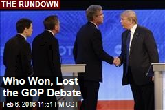 Who Won, Lost the GOP Debate